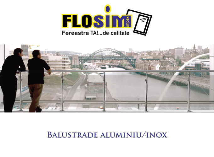Balustrade-aluminiu-inox